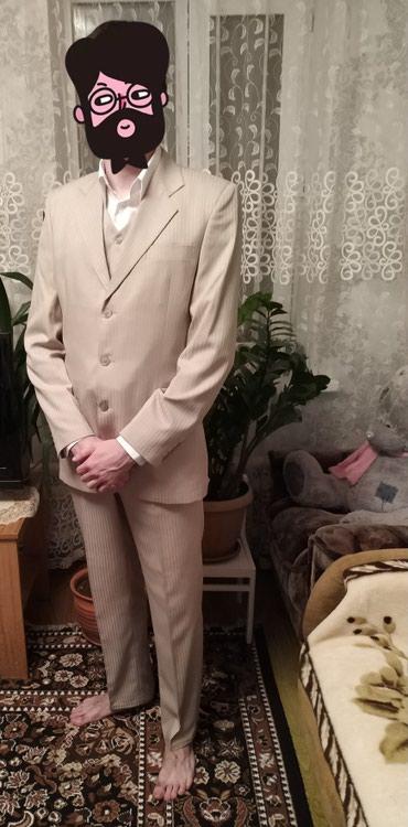 Мужская одежда - Шопоков: Тройка костюм! бежевый цвет 46 размер подробности в профиле Турция