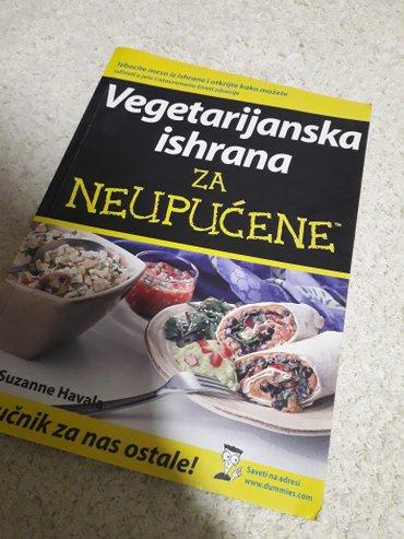 Vegetarijanska ishrana za neupućene  jako kvalitetna i poučna  nova i  - Kragujevac