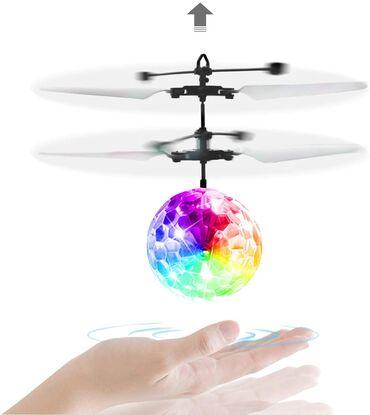 наэкранные кнопки meizu в Кыргызстан: Мега скидка! Летающая игрушка c led подсветкой streetgo crystal ball –