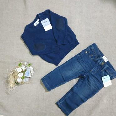 Кофта размер 74-80 impidimpi 400сом джинсы в Беловодское
