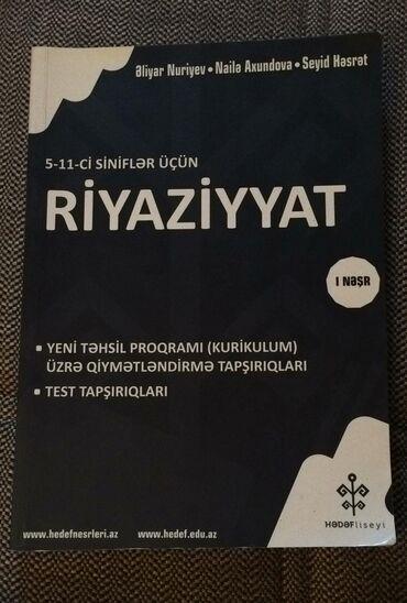 - Azərbaycan: Riyaziyyat hedef test kitabı 2018