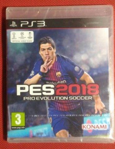 Bakı şəhərində PlayStation 3  üçün pes18