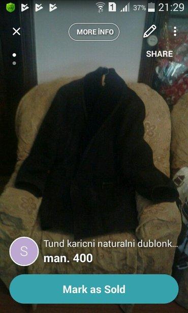 Bakı şəhərində Tund karicni naturalni dublonka geyilmeyib