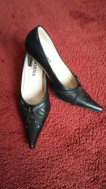Cipele kozne crne 37 br kao nove - Trstenik