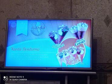 LG televizoru interneti var ekranı göy göstərir led lampası yanıb