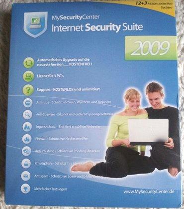 Antivirus Internet security suite 2009 - Belgrade