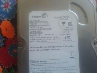 жесткий диск 80 в Кыргызстан: 80гб ата здоровье 100 производительность 100 без тога
