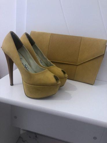 Ženska obuća | Razanj: Sandale i torba u kompletu. Sandale su broj 38,stanje kao na slikama