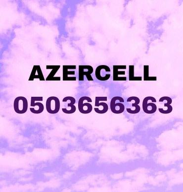 Azercell nomre satilir. Nomrenin balansinda 50 azn kontur var. Xahis