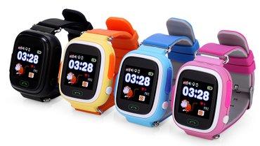 gps-часы в Кыргызстан: Детские gps часы-телефон Q90Новая модель, которая выделяется своим