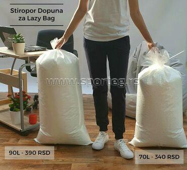 Kuća i bašta - Sremska Kamenica: BESPLATNA dostava za NOVI SADStiropor Dopuna za Lazy Bag (Lejzi