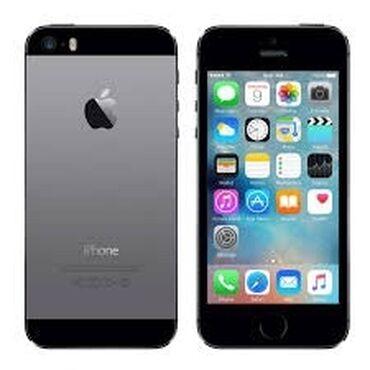 купить iphone бу в рассрочку в Кыргызстан: Б/У iPhone 5s 16 ГБ Черный