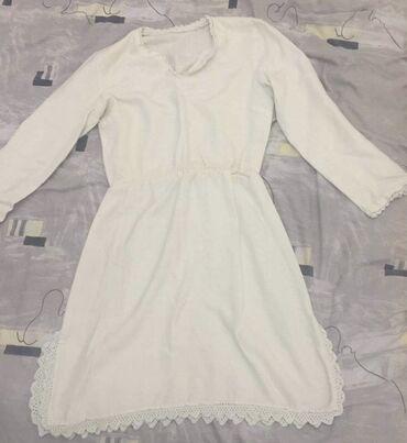 Slatka bela haljna pamucna