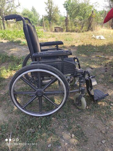 Медтовары - Кочкор: Продаем инвалидную коляску удобное мягкое сам пользовался, продаем так