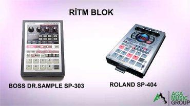 yto 404 satisi - Azərbaycan: ROLAND SP-404 və BOSS DR.SAMPLE SP-303 ritm bloklar