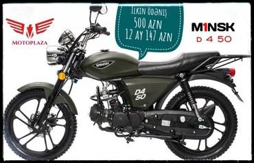 Nəqliyyat İsmayıllıda: Motosikletlərin və Mopedlərin kreditlə satışı.MİNSK 500 manat ilkin