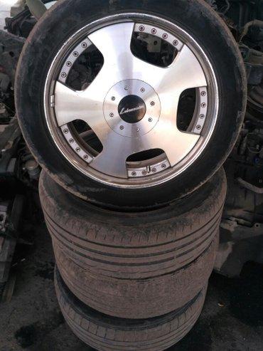 диски R18 245/45  в хорошем состоянии  в Бишкек