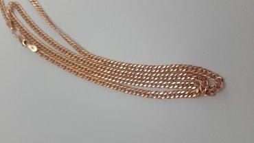 Цепь из красного золота 585 проба. длина 45см в Бишкек