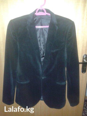 Срочно продаю! Бархатный пиджак. Подойдет и для школы с классикой и бе в Бишкек