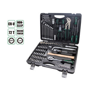 Набор инструментов 84 прсAE-S84, 18ШТ 1/4 бит