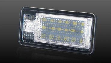 Audi coupe 2 16 - Srbija: LED Svetlo za tablice - AUDI   Led svetlo za tablice - AUDI - set od 2