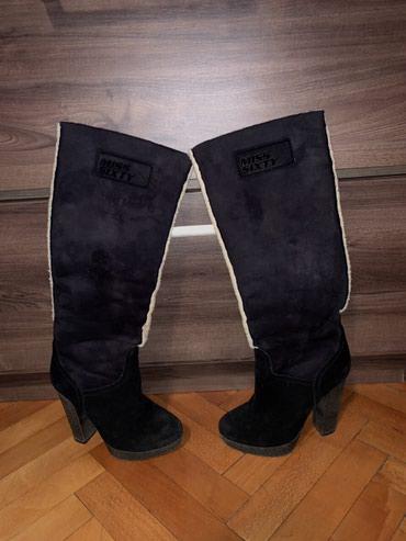 Čizme original Miss Sixty, br 37, visina stikle 11cm. U odlicnom - Nis