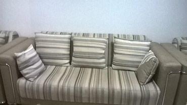 Продаю мягкую мебель,диван и 2 кресла,в хорошем состоянии в Бишкек