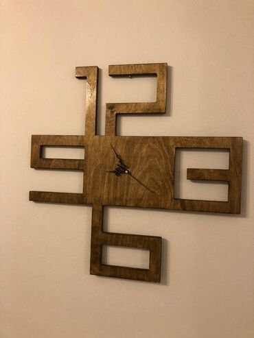 Ρολόι τοίχου 60 Χ 60 cm (βγαίνει και σ ε άλλες διαστάσεις πιο μικρές)