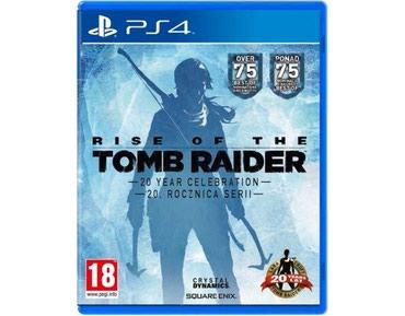 Bakı şəhərində Ps4 üçün Tomb Raider 20 year celebration oyun diski satılır
