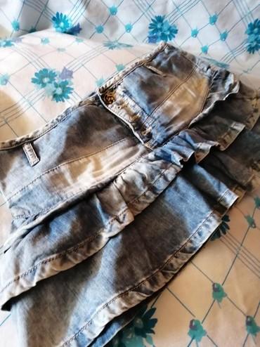 Texas-suknjica - Srbija: Texas suknjica kupljena u Barseloni pull&bear,vel 28. Obucena samo