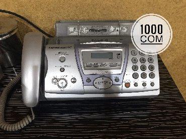 Телефонов факсов - Кыргызстан: Телефон Panasonic факс, ксерокопия