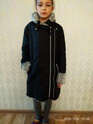 Куртка для девочкитеплая внутри мех кролика, Корея размер от