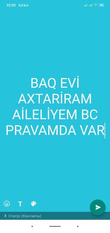 Ищу работу (резюме) в Азербайджан: Baq evi qxtariram baq işlərində bacarıram necə lazımdı baq evi olanlar