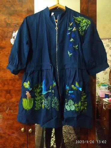 тоненькая кофточка в Кыргызстан: Лёгкая новая,тоненькая курточка, подойдёт на 46-52