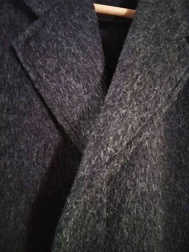 пальто лама в Кыргызстан: Зимнее мужское пальто. Германия. р50-52. Шерсть Ламы. Состояние идеаль
