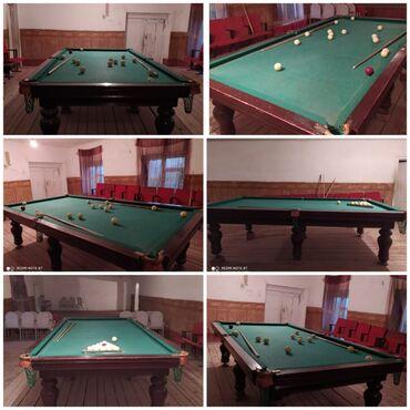 billiard - Azərbaycan: Mermer stoldu temiz karalevski bilyartdi satilir 1500 azn real aliciya