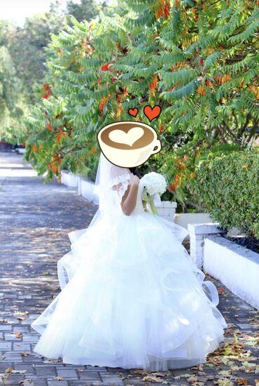 Продаётся свадебное платье новое одевала 1раз брала за 30тысяч сом про