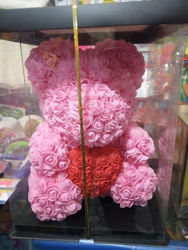 Мишка из роз новинка большие мишки из в Бишкек