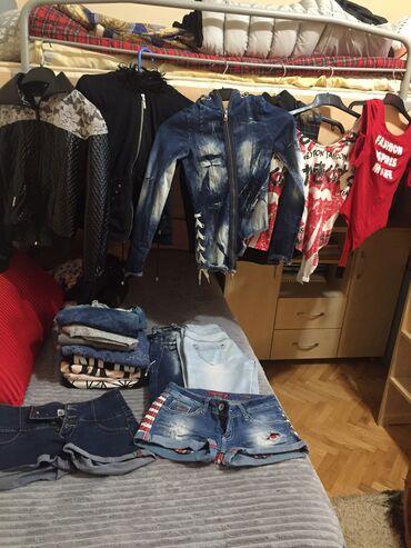 Jakna s - Srbija: Garderoba velicine od s do m 3 jakne 3 prsluka 2 bodija, 2 para