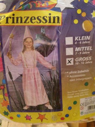 Костюм принцессы детский 10-12лет новый из Германии в Бишкек