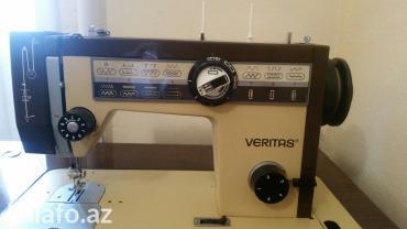 veritas - Azərbaycan: VERITAS Almaniya(немецкая) Paltar tiken masin Avtomat(pedal) ve el