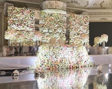 свадебная фотосъемка в Кыргызстан: Свадебный оформление зала #оформлениемероприятий #оформлениесвадьбы #о