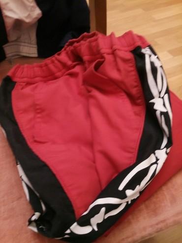 Штаны спортивные в хорошем состоянии, размер - 44-46, длина -102 см. в Бишкек