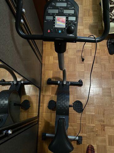 Zvonaste pantalone sa dubokim strukom pol - Srbija: Sobni cardio bicikl na struju. Podesavanje programa- fitnes i cardio