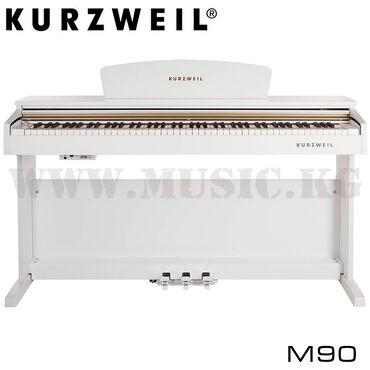 Музыкальные инструменты - Бишкек: Цифровое пианино Kurzweil M90wh (банкетка в комплекте)Фантастическое