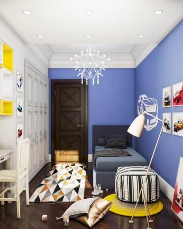 Дизайн спальни мальчика в Бишкеке в Бишкек