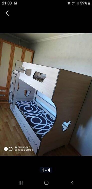 Двухъярусная кровать на заказ и в наличии на любой вкус индивидуальный
