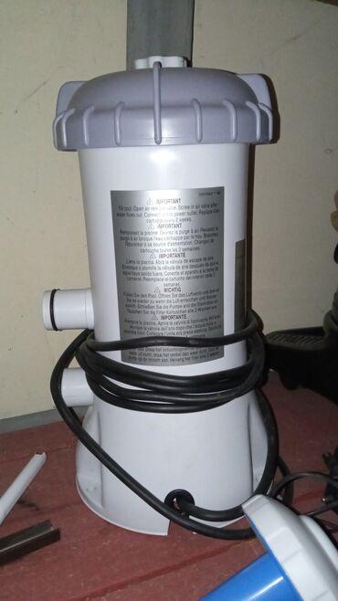 Hovuz baseyni su təmizləyici filtir nasos intex firması.Əla