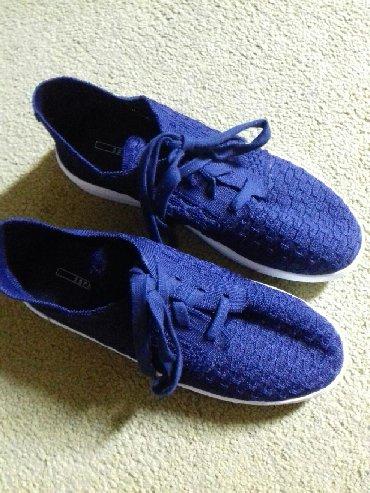 Ženska patike i atletske cipele   Prokuplje: Patike esprit 39 nove idealne za prolece tamno teget boja