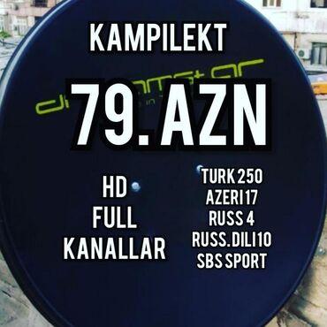 Məişət xidmətləri - Azərbaycan: Peyk antena kreditNegdi 79 aznKanallarTurk 300Azeri 17Russ 4Russ dili